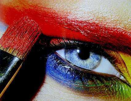 Maquillarse los ojos, todo un arte
