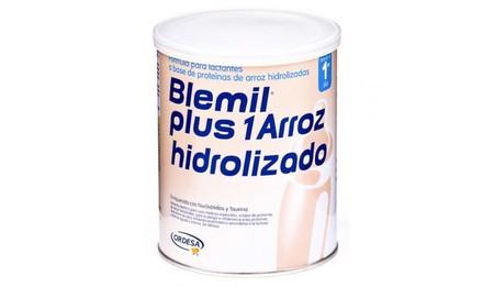 Alerta de Sanidad en alimentos infantiles: piden no consumir productos Blemil Plus arroz hidrolizado y Modilac por riesgo de salmonelosis