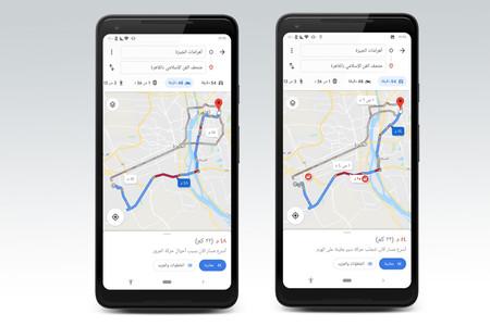 El 'modo moto' para evitar atascos de Google Maps ya está en 14 países, pero sigue sin llegar a Europa