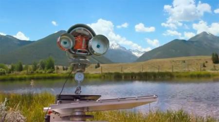 Skippy, un robot para lanzar piedras en el lago desde casa