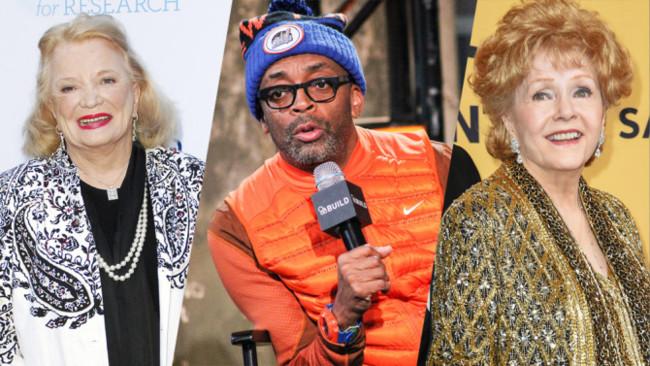 Gena Rowlands, Spike Lee y Debbie Reynolds
