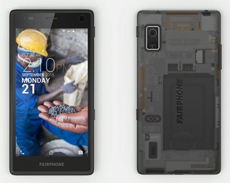Fairphone 2 es un teléfono modular que ha sido creado de forma responsable