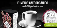 Recibe café orgánico de Chiapas gracias a My Coffee Box