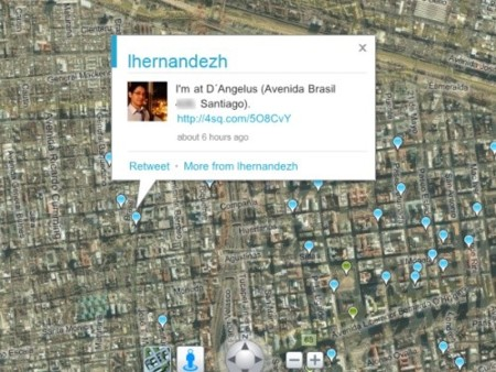 Geolocalización de Tweets en Bing