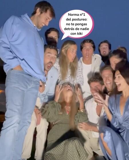 Risto Mejide, Laura Escanes, María Pombo... Las reacciones de amigos y familiares al entrarse de que tienen que ir buscando outfits para el bodorrio de Teresa Andrés Gonzalvo e Ignacio Ayllón