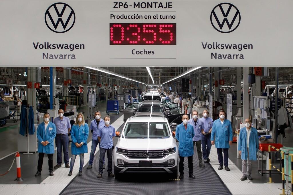¡Un coche cada 55 segundos! Volkswagen Navarra firma su mejor producción diaria de los últimos nueve años en plena pandemia