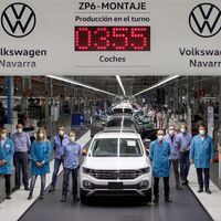 ¡Un coche cada 55 segundos! Volkswagen Navarra firma su mejor producción diaria de los últimos nueve años, en plena pandemia