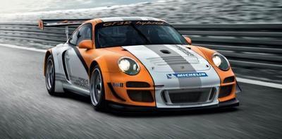 Porsche 911 GT3 R híbrido, debut en el Salón de Ginebra