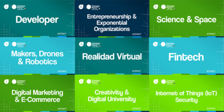 Campus Party Mexico 2016 Areas