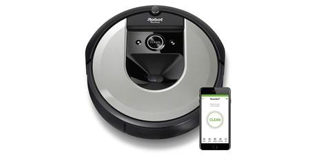 Hoy en Amazon, el nuevo Roomba i7156 de la gama alta de iRobot baja en 100 euros hasta los 799