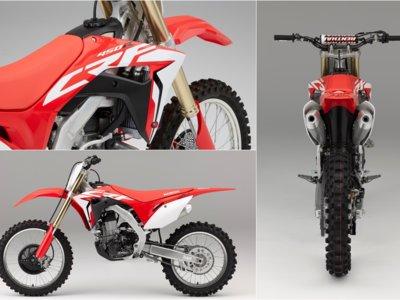 Aquí tienes las nuevas Honda CRF450R y CRF450RX 2017, el jaque a las europeas