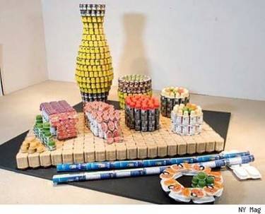 Arte con enlatados por una causa justa, Canstruction