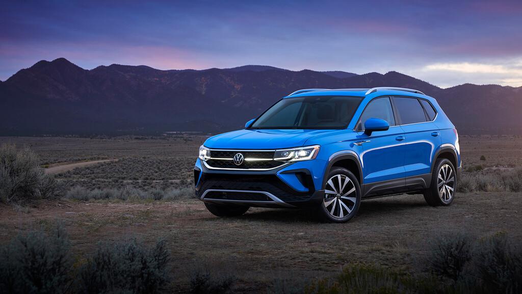 El Volkswagen Taos es un nuevo SUV compacto para México: un