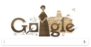 El 'doodle' de hoy homenajea a Aletta Jacobs, la primera médica de la historia de Holanda y una luchadora feminista incansable