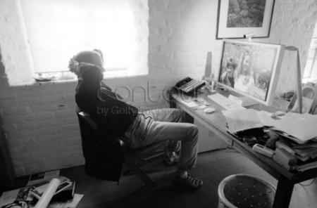 El despacho de Steve Jobs en su casa de Palo Alto y otras fotografías curiosas