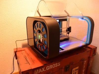 Cel Robox, una impresora 3D cargada de novedades: Análisis