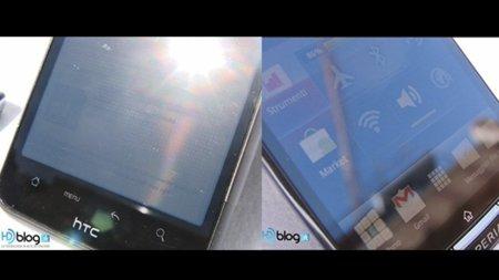 Xperia Arc vs. Desire HD: comparando sus pantallas al aire libre