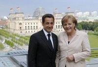 Se reunen Sarkozy y Merkel, no esperar las Naciones Unidas de Europa