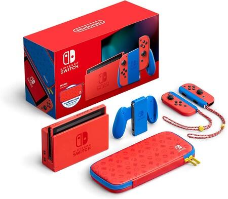 Nintendo Switch edición limitada de Mario Bros. en México