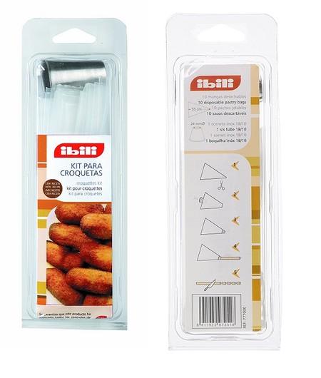 Kit para hacer croquetas Ibili ahora en Amazon por 5,10 euros ¡Ideal para unas croquetas caseras bonitas!