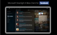 Microsoft desvela un cliente de Facebook hecho en Silverlight