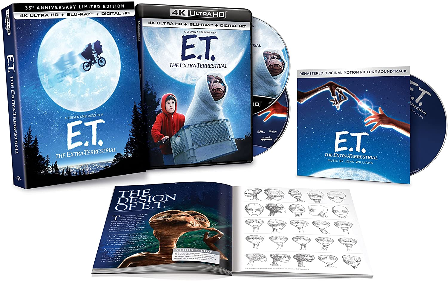 E.T. The Extra-Terrestrial: 35th Anniversary Limited Edition