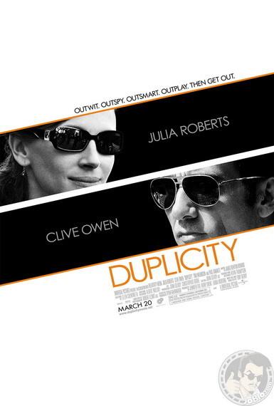 'Duplicity' con Julia Roberts y Clive Owen, póster