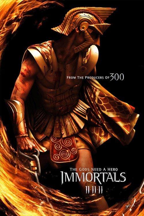 'Immortals', primeros carteles