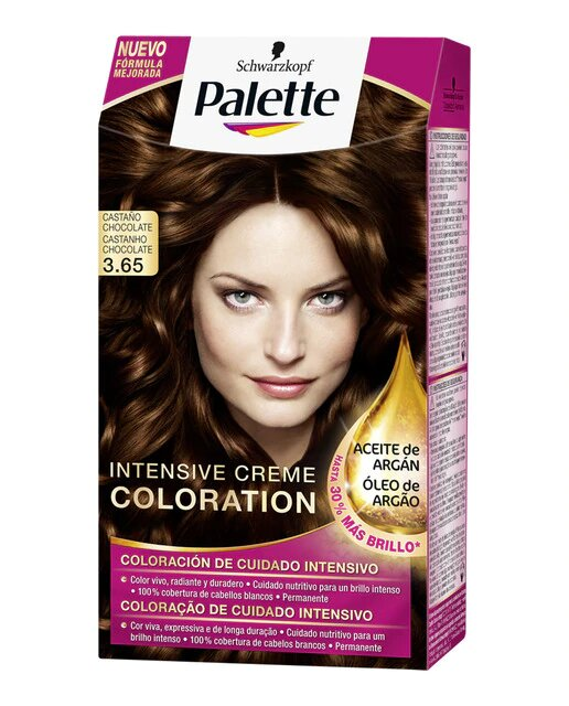 Coloración Permanente Intensive Creme Coloration Palette