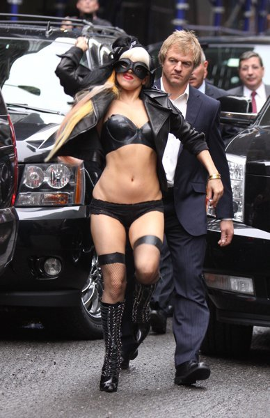 Lady Gaga Letterman