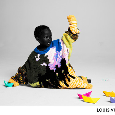 Enfocada en la niñez y la inclusión y el arte, Louis Vuitton presenta su campaña de primavera 2019