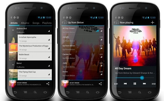 CyanogenMod Music Player