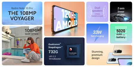 Xiaomi Redmi Note 10 Pro Oficial Caracteristicas Especificaciones Tecnicas