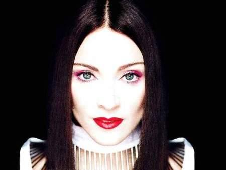 Madonna celebra las navidades con plata