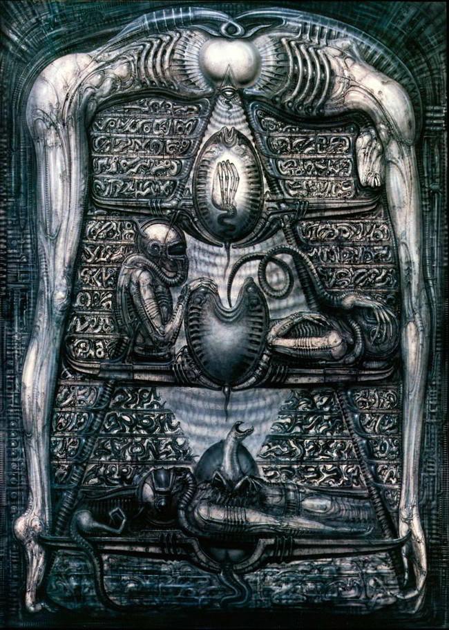 Alieniigiger Hieroglyphics