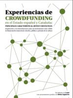 Experiencias de crowdfunding en el Estado español y Cataluña