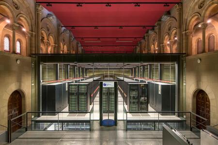 CPD del Centro Nacional de Supercomputación de España.