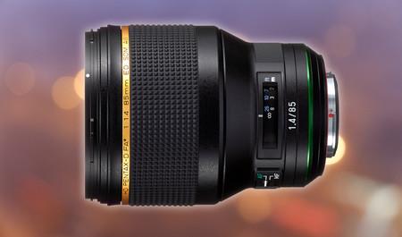 HD Pentax-D FA 85mm F1.4 SDM AW, lanzado oficialmente este teleobjetivo de alta calidad para réflex Pentax K (APS-C o full frame)