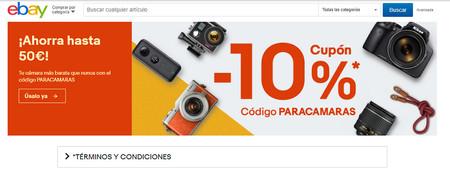 Paracamaras Cupon Descuento Ebay 2