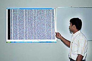 Almacenar datos en papel en forma de códigos de barras, hasta 450 GB