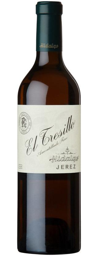 Tresillo, Amontillado Fino. Bodegas Hidalgo.