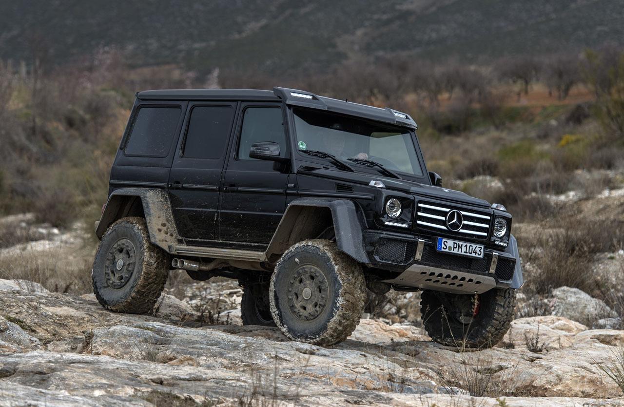 Foto de Mercedes-Benz G 500 4x4², toma de contacto (50/127)