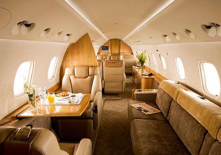 Embraer Legacy 600, imágenes del jet ejecutivo por dentro