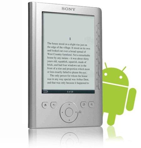 Sony interesada en Android, ¿para sus lectores de libros electrónicos?
