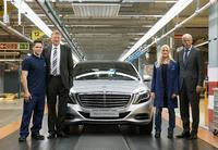 Inicia la producción del nuevo Mercedes-Benz Clase S