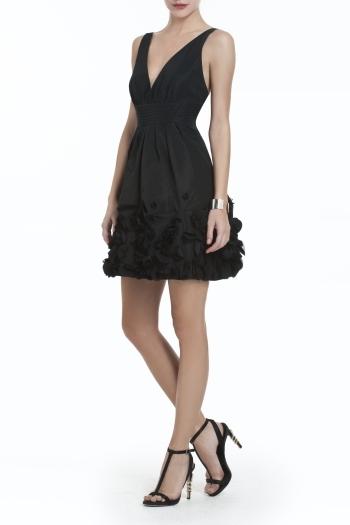 Foto de Moda de fiesta Navidad 2011, 20 vestidos negros de fiesta: homenaje al little black dress (19/20)