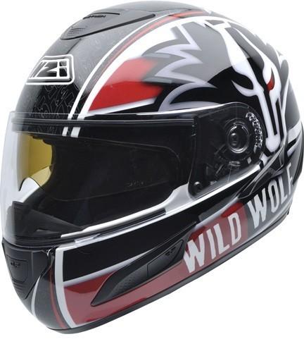 NZI Cursus II Sunvisor Wild Wolf 31