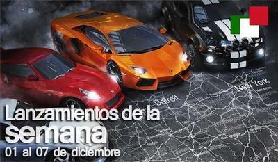Lanzamientos de la semana en México del 01 al 07 de diciembre
