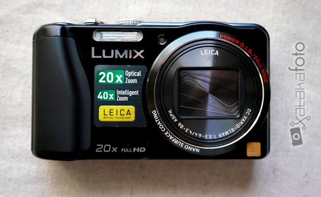 Lumix TZ30 frontal