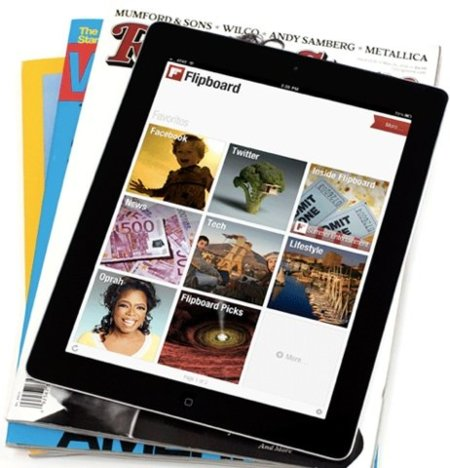 Flipboard planea llegar al iPhone con una plétora de contenidos multimedia